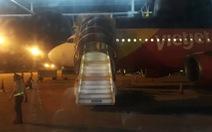 Trục trặc kỹ thuật, máy bay Vietjet từ Vinh đi TP.HCM hạ cánh ở Đà Nẵng