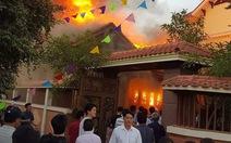 Không có chuyện 'biệt thự trăm tỉ chủ tịch tỉnh Nghệ An bốc cháy'