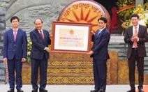 Thủ tướng trao Bằng xếp hạng Di tích Quốc gia đặc biệt Gò Đống Đa
