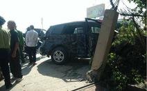 Vụ tai nạn 3 người chết ở Thanh Hóa: Xe biển xanh của Kho bạc nhà nước tỉnh