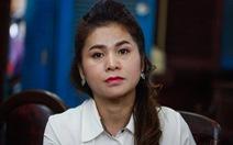 Bà Lê Hoàng Diệp Thảo nói gì sau khi tạm ngừng phiên tòa?