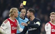 Ramos bị phạt 2 trận vì 'tẩy thẻ'