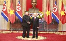 Lãnh đạo Triều Tiên Kim Jong Un chúc mừng Tổng bí thư, Chủ tịch nước Nguyễn Phú Trọng