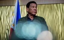 Tổng thống Duterte: 'Philippines đấu không lại Trung Quốc vì họ có rất nhiều vũ khí tốt'