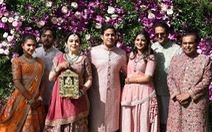 Con trai tỉ phú giàu nhất châu Á đám cưới xa hoa