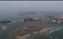 Cồn cát xuất hiện ở biển Cửa Đại là 'hiện tượng nói đi nói lại hoài'