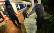 Hành khách đi tàu SE3, SE4 sẽ mua suất ăn như trên máy bay giá rẻ