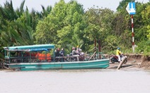 TP.HCM yêu cầu xử nghiêm ghe tàu 'lụi' chở khách băng qua sông