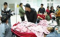 Phỏng nặng, 2 nạn nhân vụ nổ bình gas phải ra Hà Nội điều trị