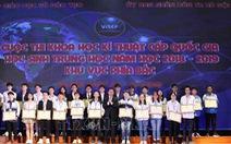 15 dự án đạt giải nhất cuộc thi khoa học kỹ thuật phía Bắc