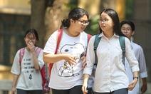 Tuyển sinh vào lớp 10 ở Hà Nội: chỉ thi 3 môn, bỏ môn thứ 4