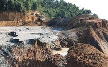 Sập mỏ thiếc ở Nghệ An, 3 người chết