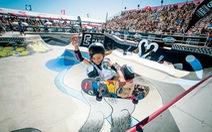 Trượt ván siêu đẳng, cô bé hơn 10 tuổi có cơ hội thi đấu tại Olympic Tokyo 2020