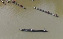 100 VĐV thuyền độc mộc đua trên hồ nước ngọt lớn nhất Tây Nguyên