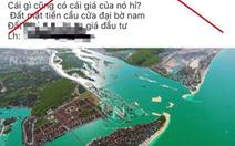 Xử lý người tung tin giả siêu dự án TP Quảng Ngãi trên mạng