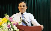 Ông Trần Lưu Quang: 'Công tác nhân sự cần có thêm nhiều cán bộ trẻ'
