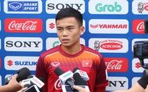 Bài tập thể lực ở đội tuyển U-23 Việt Nam khá nặng