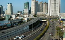 Từ ngày mai 3-10: cấm xe lên cầu vượt Nguyễn Hữu Cảnh: Theo dõi 5 ngày mới thi công