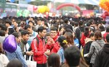 Hàng vạn học sinh dự Ngày hội tư vấn tuyển sinh quy mô nhất từ trước đến nay