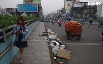 Sở Giao thông vận tải đề nghị quận, huyện dọn rác trên những cây cầu