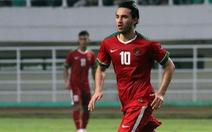 Tuyển U-23 Indonesia mang 23+1 cầu thủ đến Việt Nam