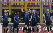 Inter đá bại AC Milan trong trận derby kịch tính có 5 bàn thắng