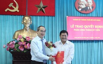 Ông Huỳnh Cách Mạng nhận phân công phó trưởng ban tổ chức Thành ủy TP.HCM