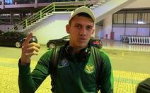 Tiền đạo đang đấu ở châu Âu của U-23 Indonesia nói sai tên đội chung bảng