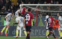 Thua Cagliari, Inter Milan có nguy cơ rơi khỏi tốp 3 Serie A