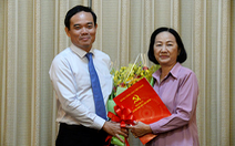 Phó chủ tịch HĐND TP.HCM Trương Thị Ánh nhận quyết định nghỉ hưu