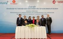 VinFa hợp tác với Tập đoàn DKSH Thụy Sĩ