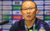 HLV Park Hang Seo: U-23 Việt Nam sẽ thắng bằng được Indonesia