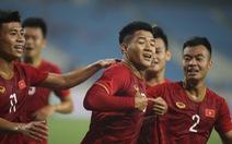 U-23 Việt Nam – U-23 Brunei (hiệp 1) 1-0: Đức Chinh đánh đầu mở tỉ số