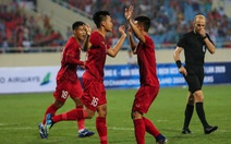 U-23 Việt Nam – U-23 Brunei (hết hiệp 1) 3-0: Thanh Bình nâng tỉ số