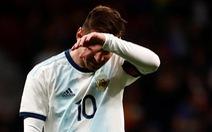 Argentina thua 'sốc' Venezuela trong ngày Messi trở lại