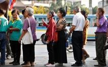 Hôm nay người dân Thái nô nức đi bầu cử