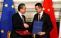 Ý chính thức ủng hộ Vành đai và con đường của Trung Quốc