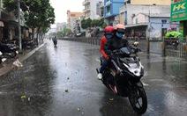 Trưa 24-3, TP.HCM xuất hiện mưa rải rác một số nơi