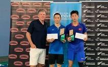 Đánh bại tay vợt Trung Quốc, Tiến Minh vô địch tại New Zealand