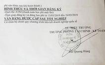 Giả chữ ký, con dấu ĐH Kinh tế TP.HCM để lừa tuyển sinh