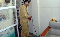 Ống nước bể, rò rỉ có thể nhờ Cấp nước TP.HCM sửa tại nhà