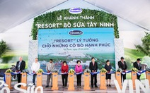 Vinamilk vận hành trang trại bò sữa độc lập lớn nhất Việt Nam