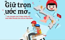 'Giữ trọn ước mơ' - câu chuyện gần 2 triệu mũ bảo hiểm cho trẻ em Việt Nam