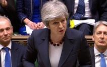 Thủ tướng Anh cam kết từ nhiệm nếu thỏa thuận Brexit được thông qua