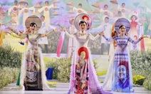 Nguyễn Trăm và Mộng Đào đoạt giải Duyên dáng áo dài 2019
