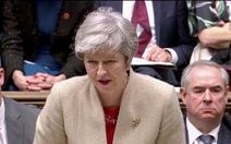 Lần 3 Brexit bị bác bỏ, Thủ tướng Anh thất vọng