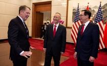 Nhà Trắng: đàm phán thương mại tại Bắc Kinh đạt tiến bộ mới