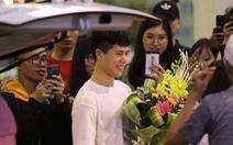 Trung vệ Đình Trọng về nước tập trung cùng U-23 Việt Nam