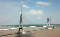 Cầu Vàm Cống đã xong 99%, dự kiến đưa vào sử dụng từ 6-2019