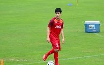 Tuyển U-23 Việt Nam chào đón Đình Trọng trở lại